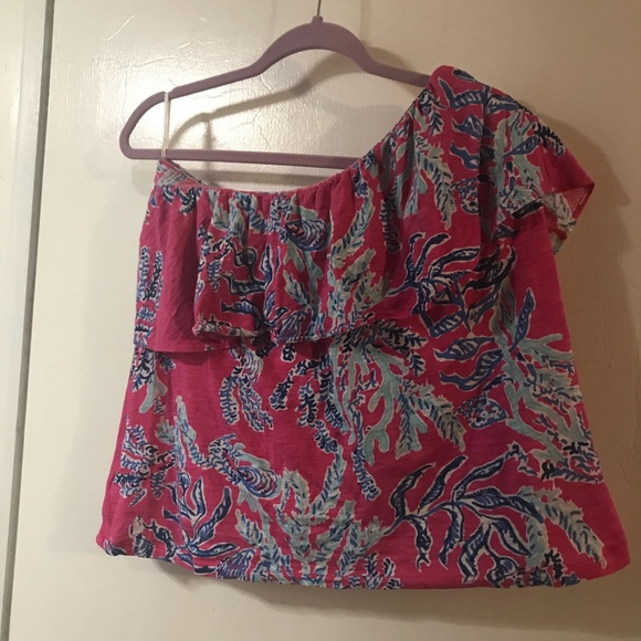 b131dc38226ea6 Lilly Pulitzer Tops | Tube Top Play Condition | Poshmark